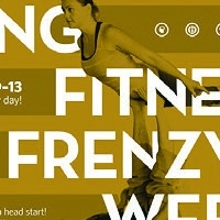 Fitness Frenzy Week Poster