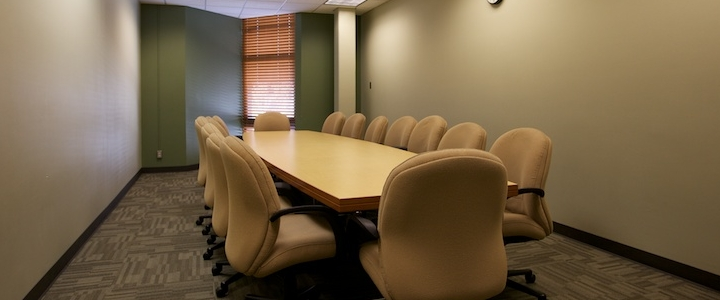 Green & Gold Board Room