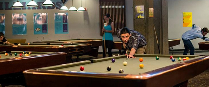 Enjoy our Billiard Area
